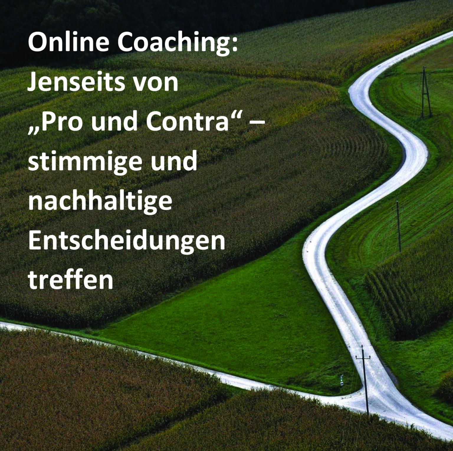 Entscheidung treffen online